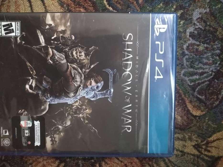 Ps4 Juego Nuevo Sellado Shadow Of War