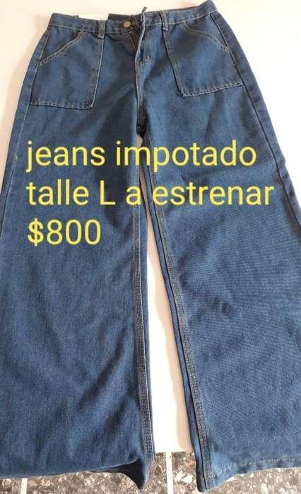 <strong>jeans</strong> Oversize L Import.a Estrenar 800