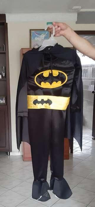 Se Vend Disfraz de Batman Talla 4
