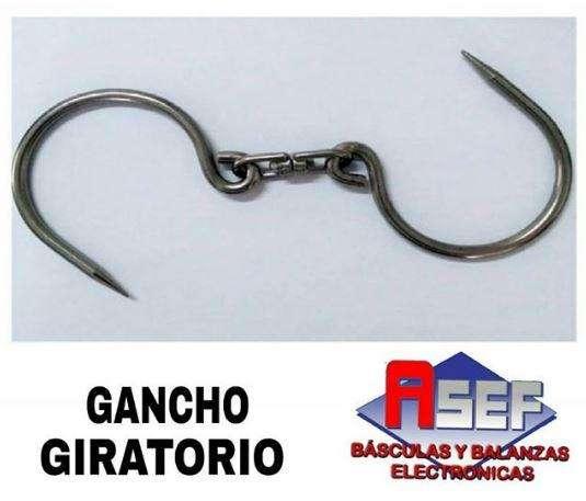 GANCHO GIRATORIO CON CAPACIDAD DE HASTA 100KG HECHO EN ACERO 304