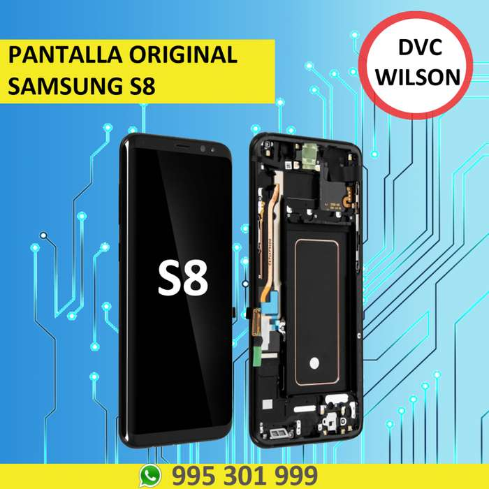 Pantalla Original Samsung S8