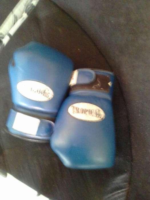 Guantes Usados para Entrenar Boxeo