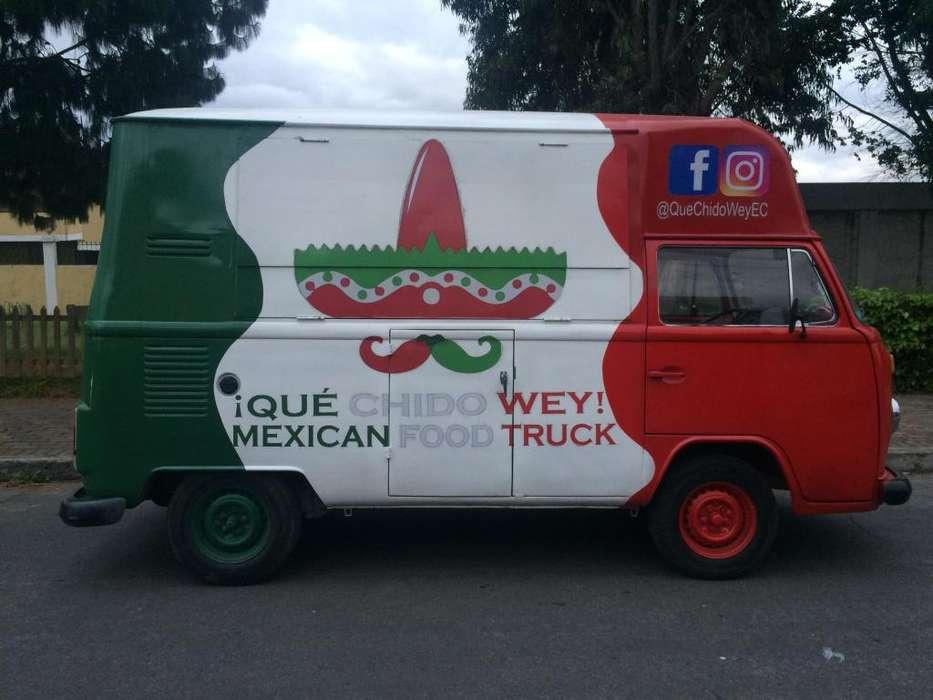 Food Truck Equipado Negociable (3 Puntos Venta) Negocio Rentable