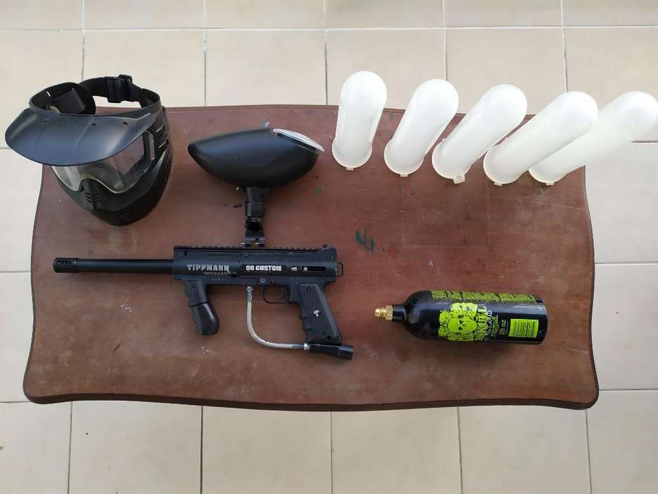 Kit de Marcadora de Paintball