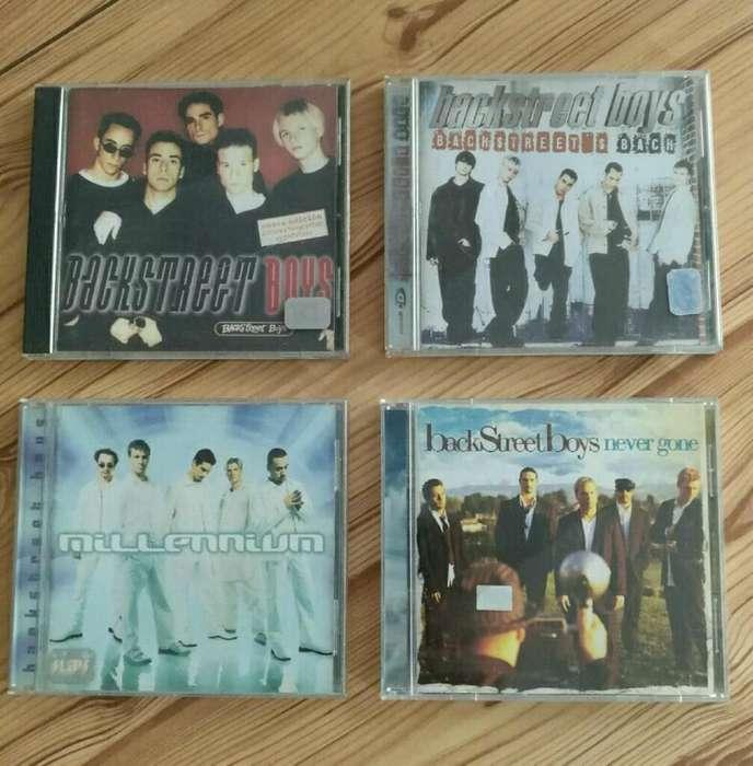 Backstreet Boys X 4 Cds Originales