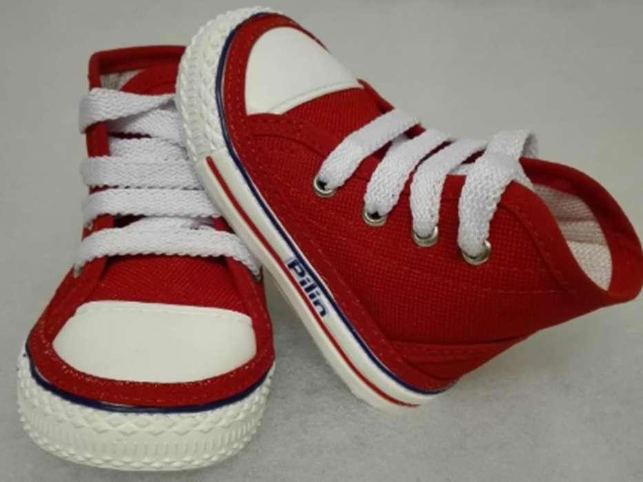 Zapatos para Bebés Gateadores Ref. 2010 Rojo