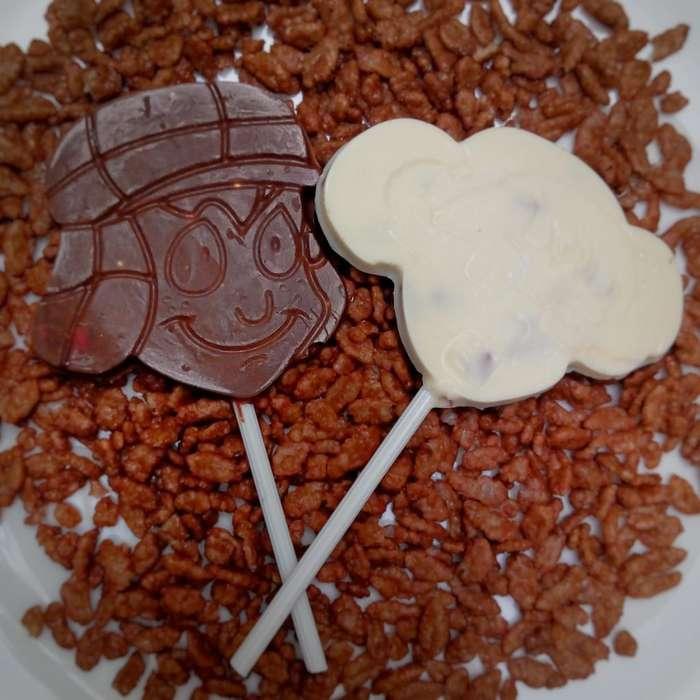 Chupetas de Chocolate