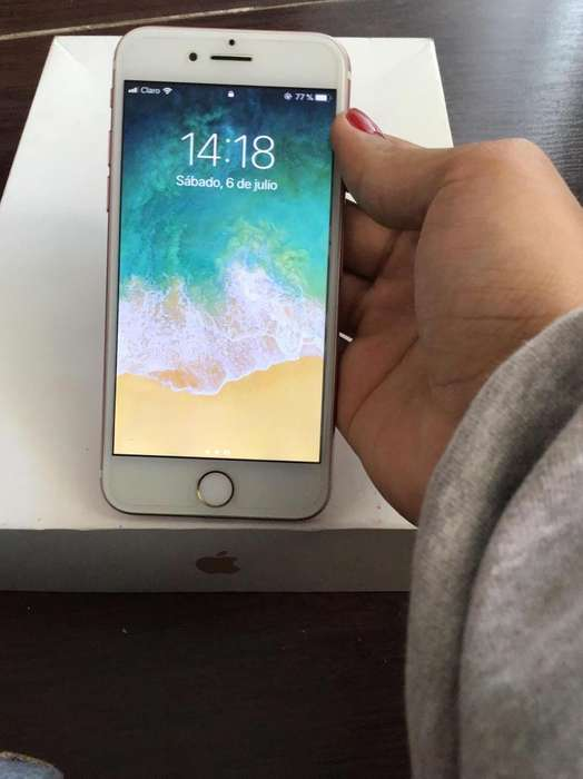 iPhone 7 32gb color rosa (envío nacional)