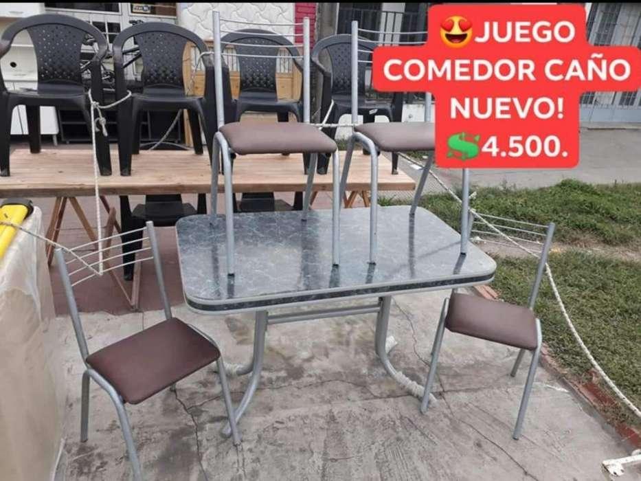 <strong>juego</strong> Comedor Caño Como Nuevo!!!