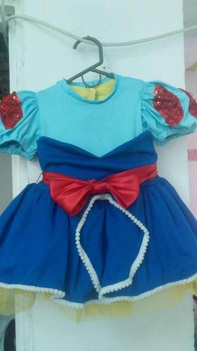 Disfraz Vestido Blanca Nieves