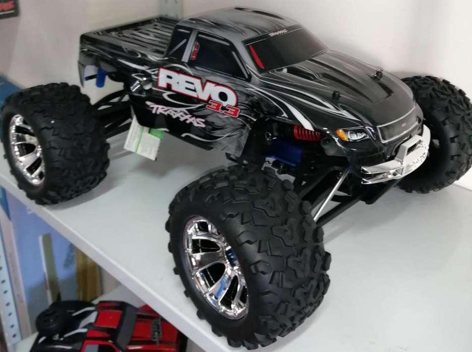 Carro Monster Truck Traxxas Revo 3.3 Rc.
