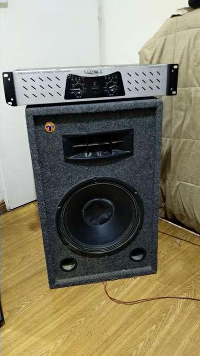 Amplificador Y Parlante