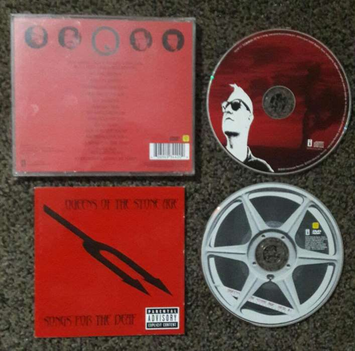Queen Of The Stone Age Cd Y Dvd