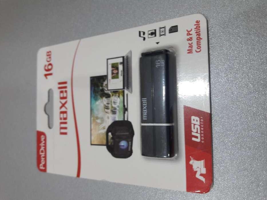 USB MAXELL 16 GB