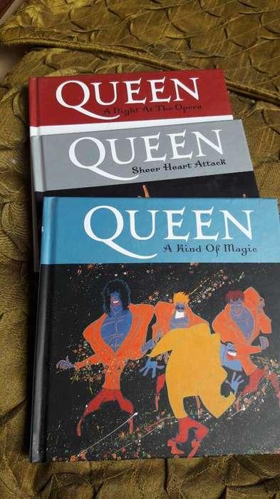 Colección 3 Discos Queen Deluxe sin Uso