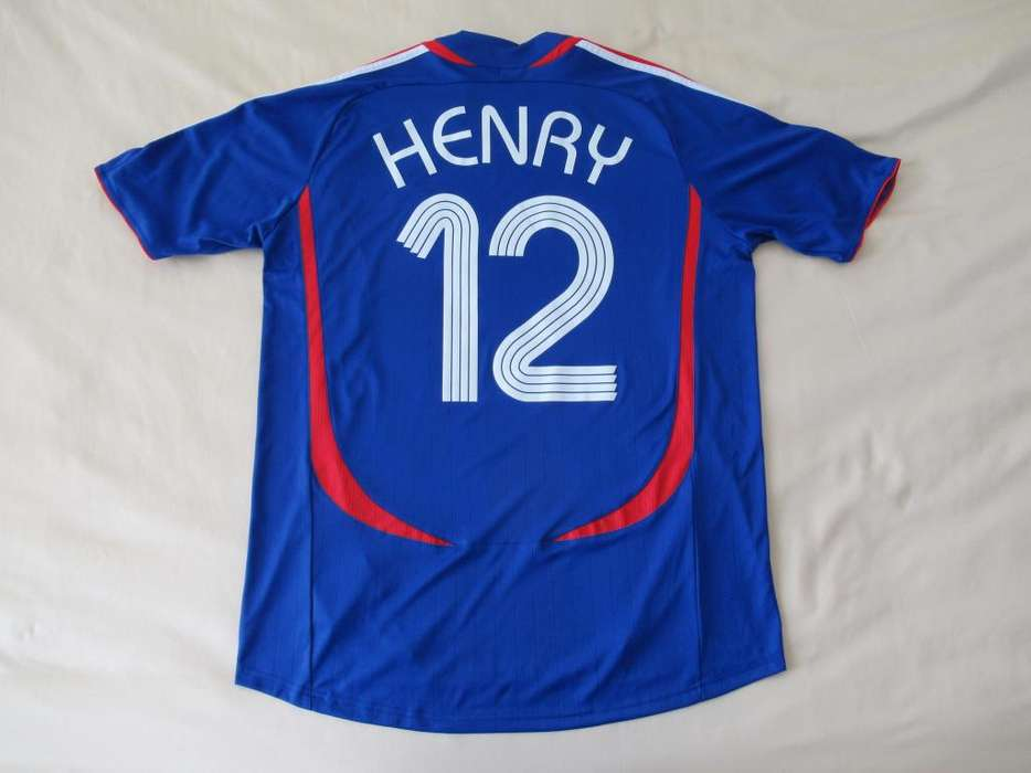 camiseta Thierry Henry, Francia 2006/07