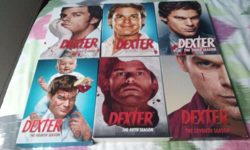 Serie Dexter temporadas de la 1 - 3, 5 y la 7