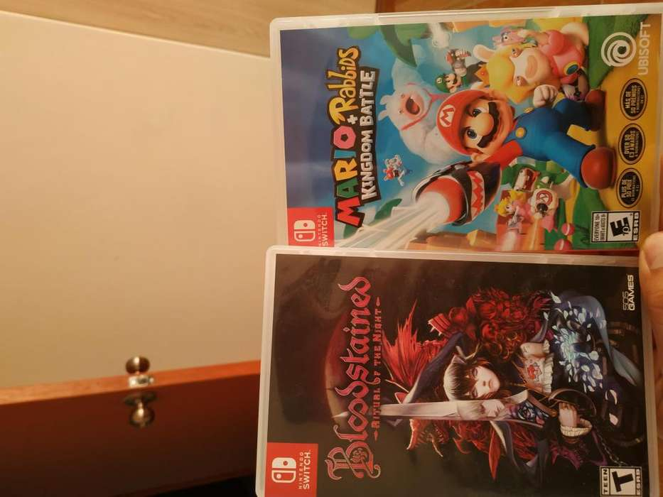 Mario rabbids y bloodstained