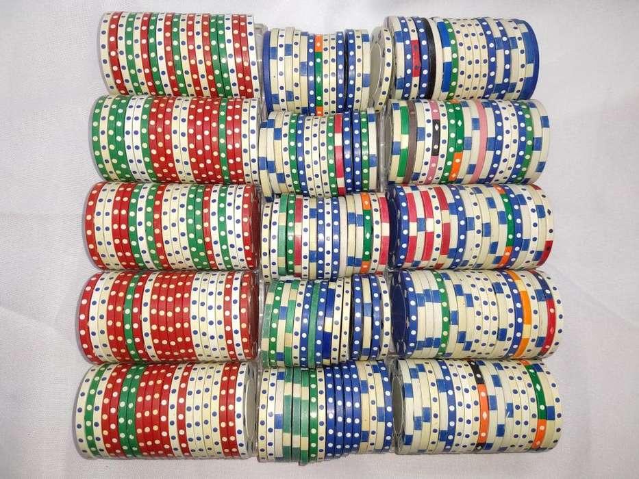 Fichas poker 166 unidades