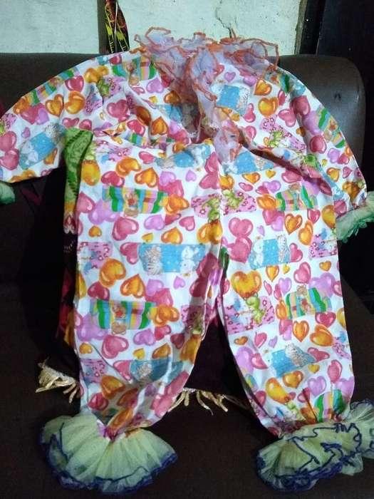 Disfraz de Payasita Niña de 1 a 2 Años