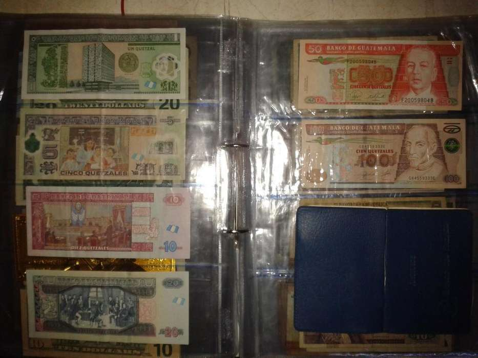 billetes guatemala