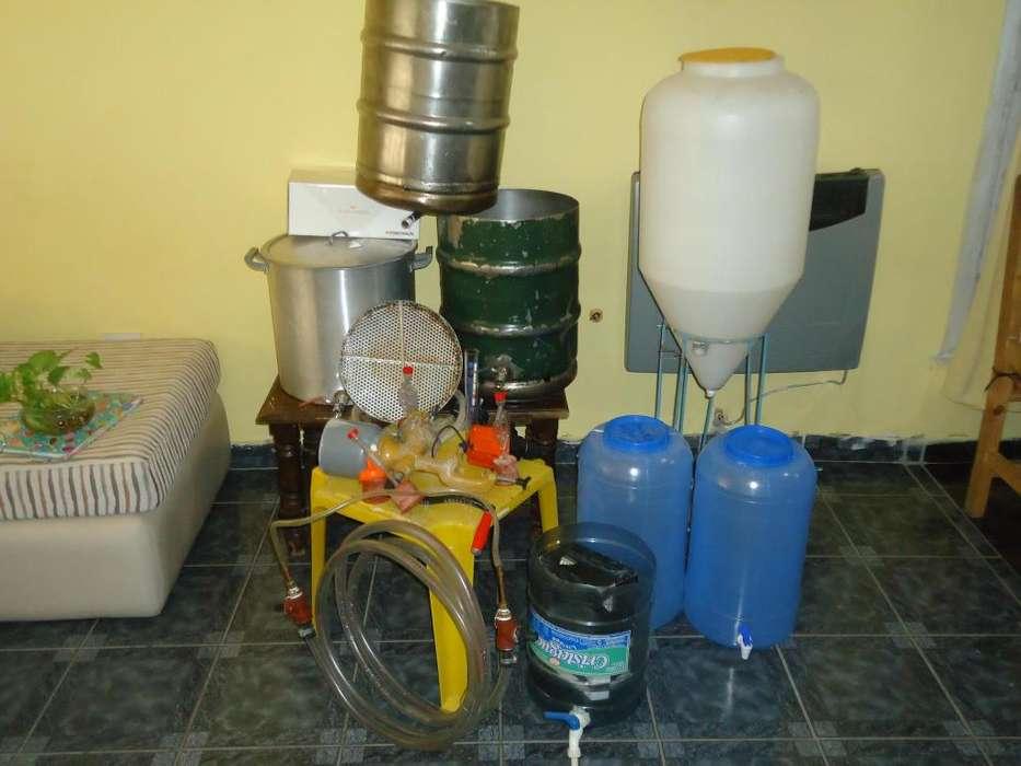 Vendo equipo para fabricar cerveza artezanal