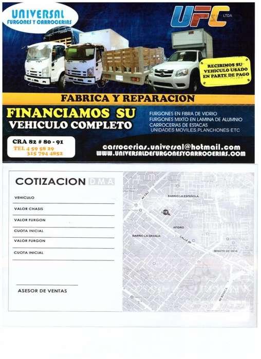 FABRICA Y REPARACIÓN DE FURGONES Y CARROCERÍAS.