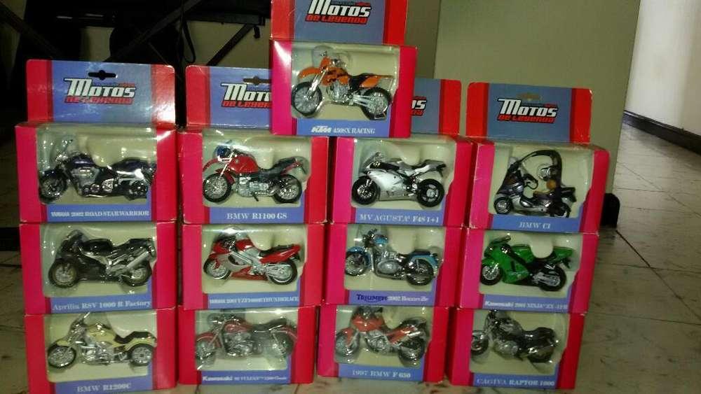 Coleccion de Motos de Leyenda