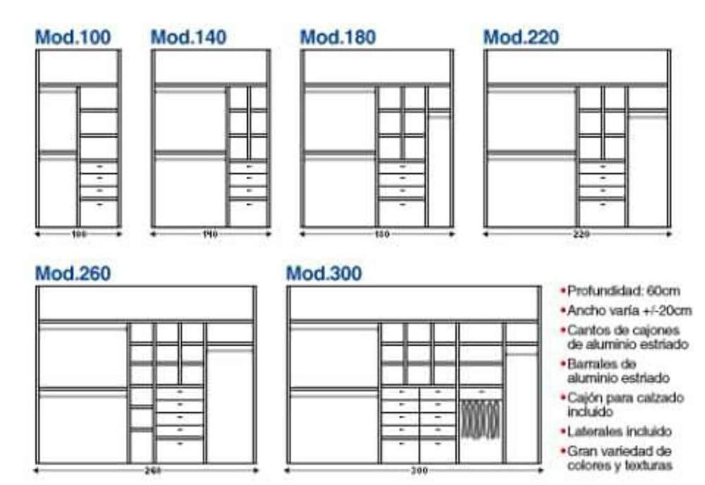 Muebles a Medidas Precios Rasonables