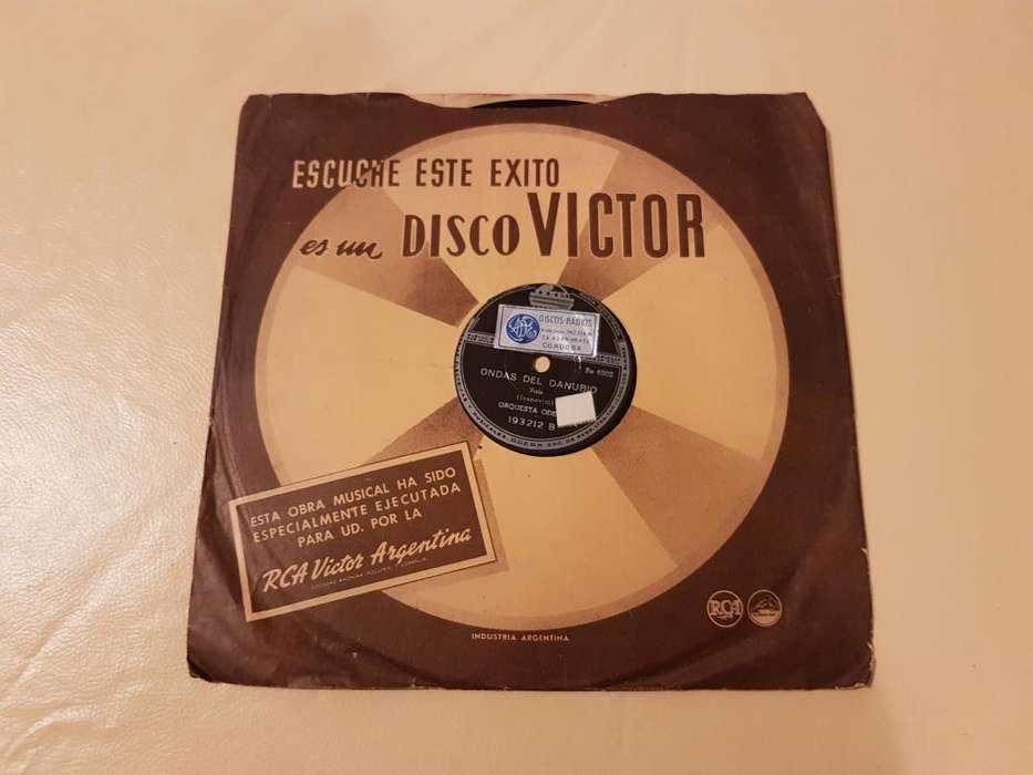 DISCO DE VINIO 78 RPM!!! ORQUESTA ODEON