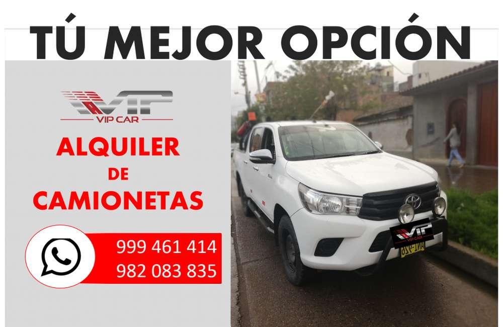 Alquiler de vehículos en Huancayo, La Oroya, CAMIONETAS, VANS, COMBI