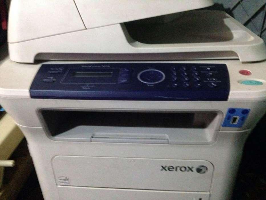 vendo o cambio esta copiadora Laser Work centre 3210 a blanco y negro con toner nuevo en 175