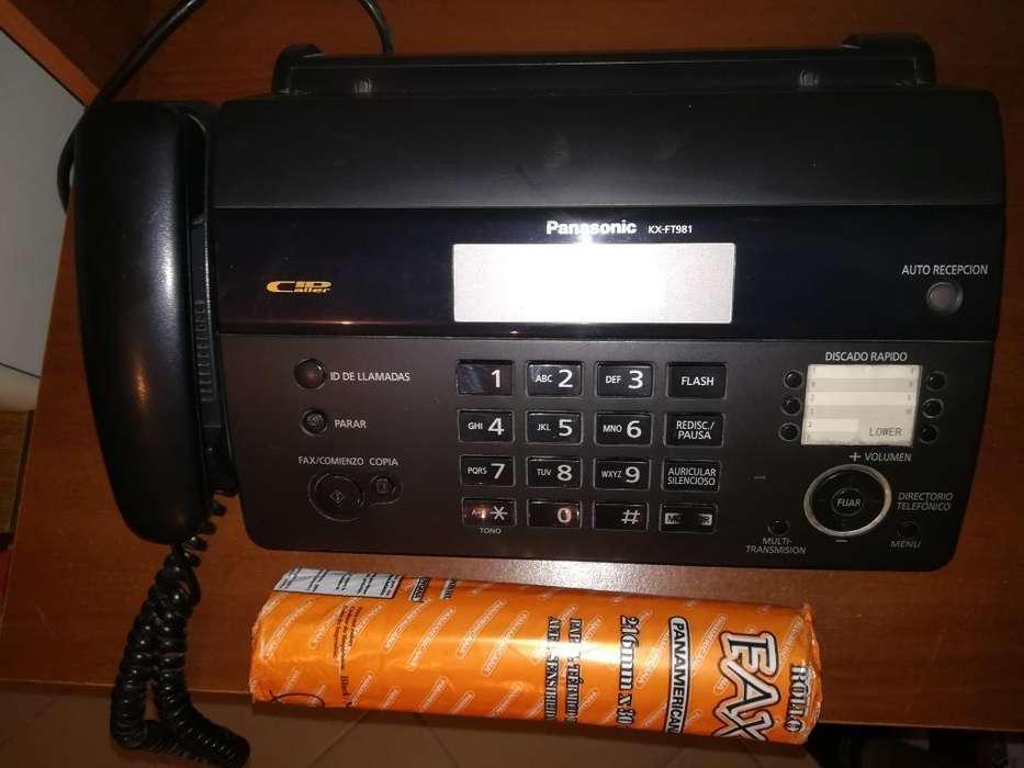 Fax Panasonic 3 Funcionales