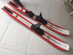 Esquis acuaticos, Connelly Wide Body ancho del cuerpo 2 en 1 slalom
