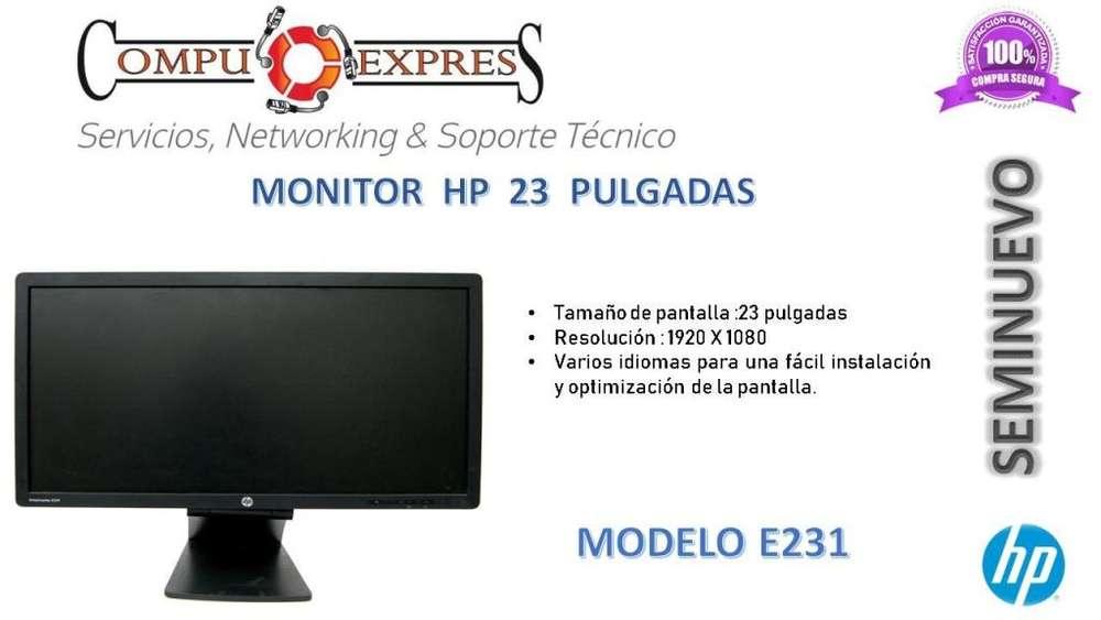 <strong>monitor</strong> Hp 23 Pulgadas Seminuevo