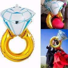 Globo metalizado de anillo