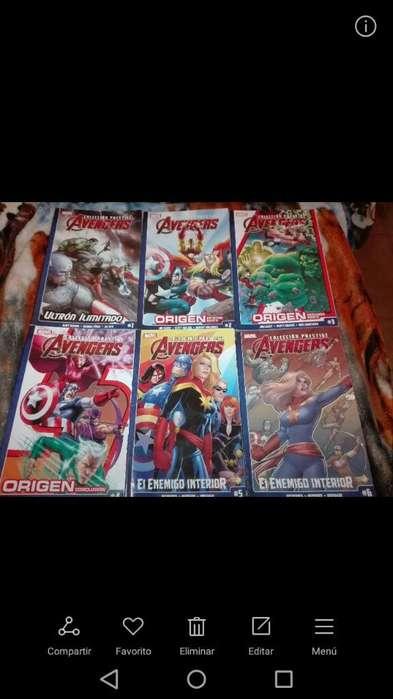 Vendo Comics Marvel Avengers X 6