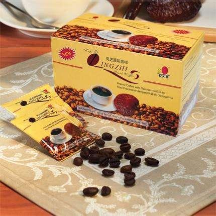 Cafe Dxn Negro Caja De 20 Sobres!