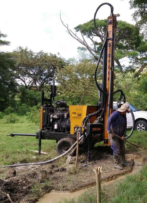 taladros de perforación pozos de agua drenes anaclajes y micropilotes