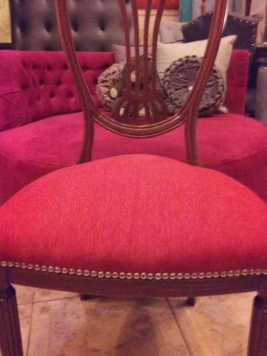 VENDEMOS preciosas sillas de estilo restauradas con GLAM