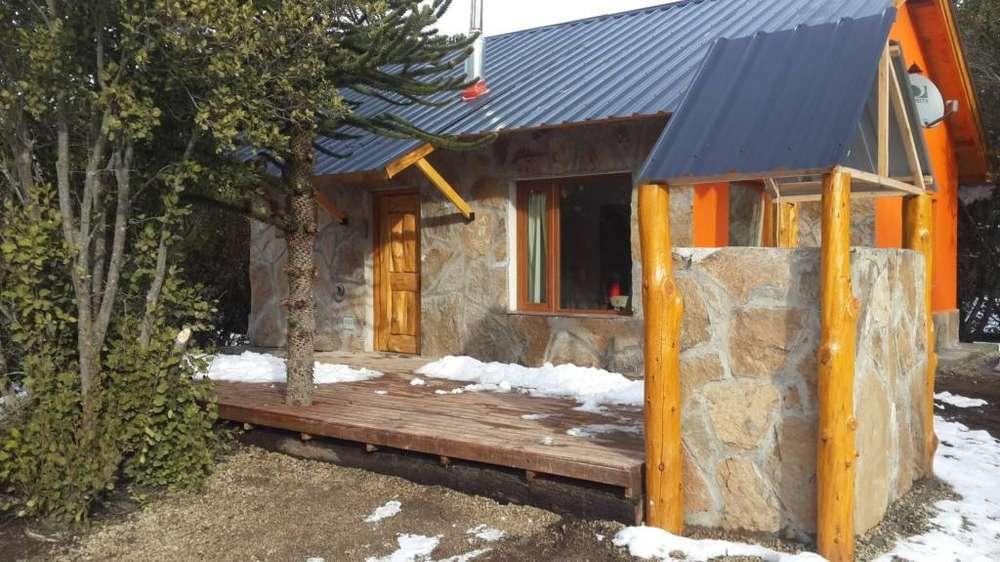 ep26 - Cabaña para 2 a 6 personas con cochera en Villa Pehuenia