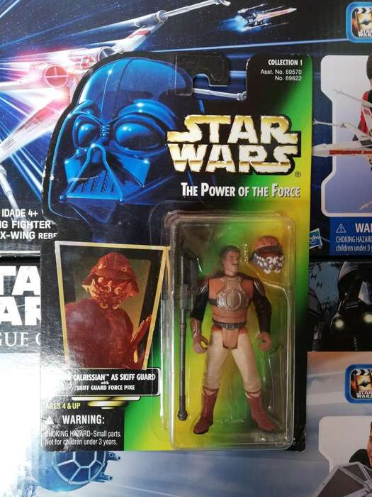 Star Wars The Power Of The Force - LANDO CALRRISIAN - Figura Kenner