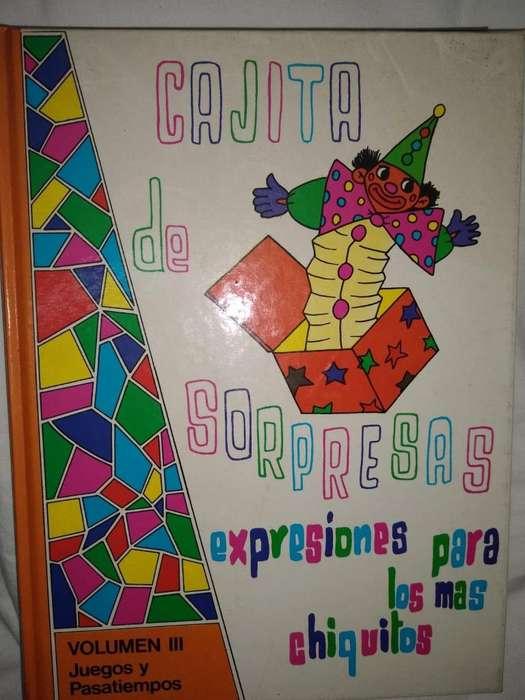 CAJITA DE SORPRESAS T3-Expresiones para chiquitos-JUEGOS Y PASATIEMPOS