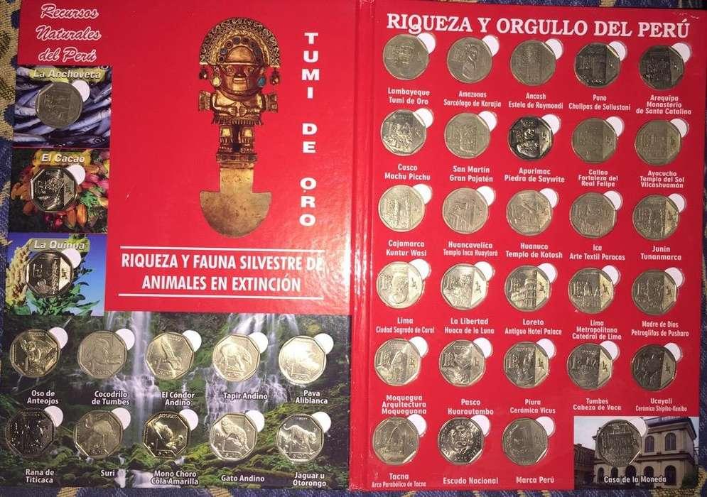 Album Monedas Completas