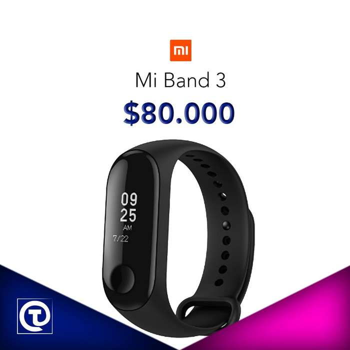 Xiaomi Mi Band 3, nuevas, selladas, Garantia, Factura, TIENDA FÍSICA.
