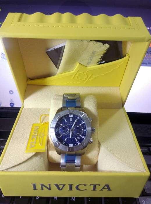 Reloj Invicta Specialty 21467 Plateado Masculino.