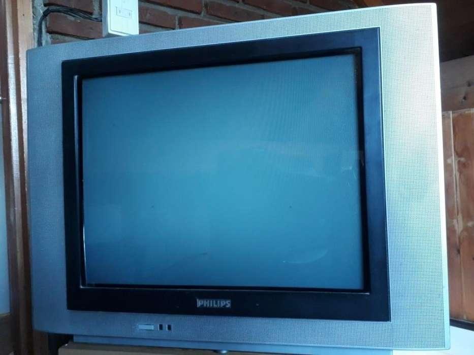 Tv Philips Pantalla Plana Control Impeca
