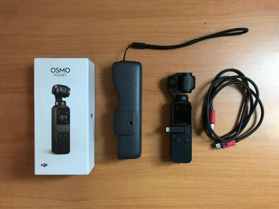 DJI Osmo Pocket (Incluye seguro todo riesgo por 2 años)