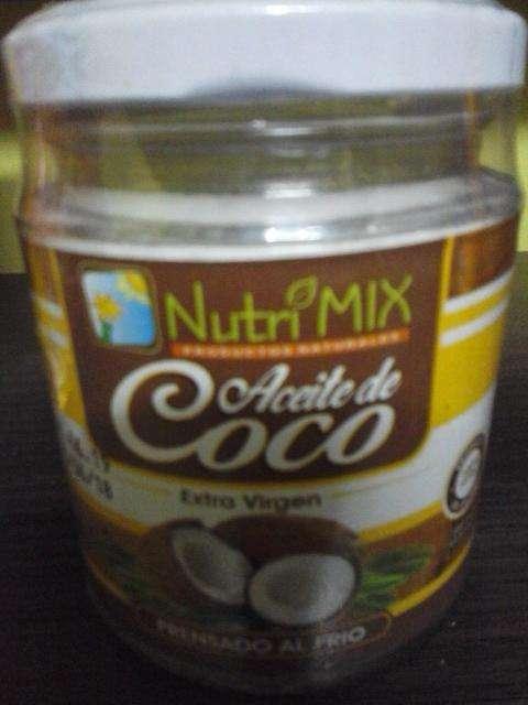 ACEITE DE COCO MARCA NUTRIMIX DE 200 ML