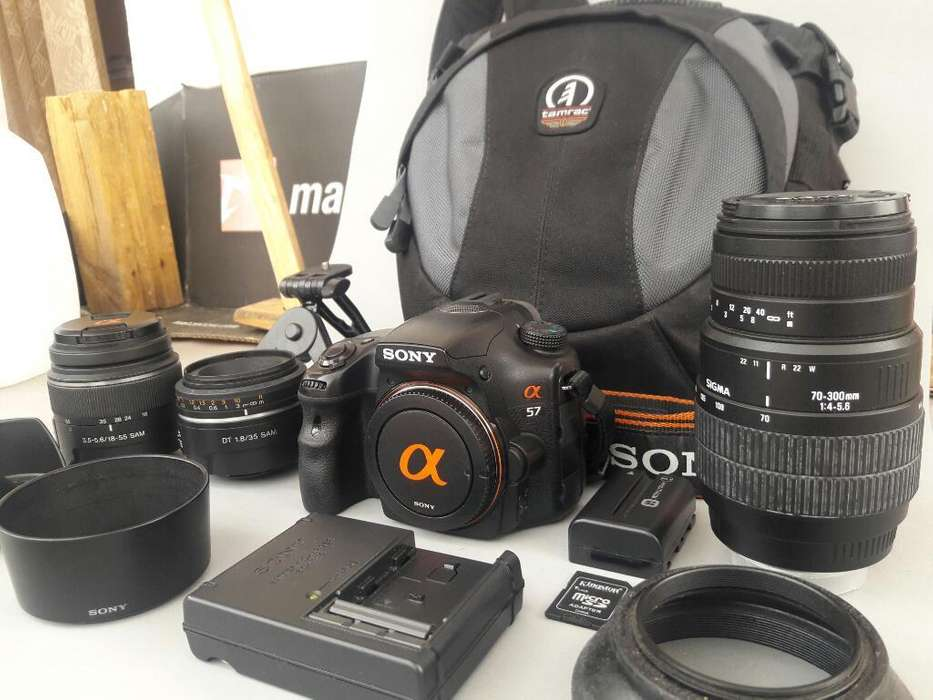 Camara Profesional Sony Dslr A57k